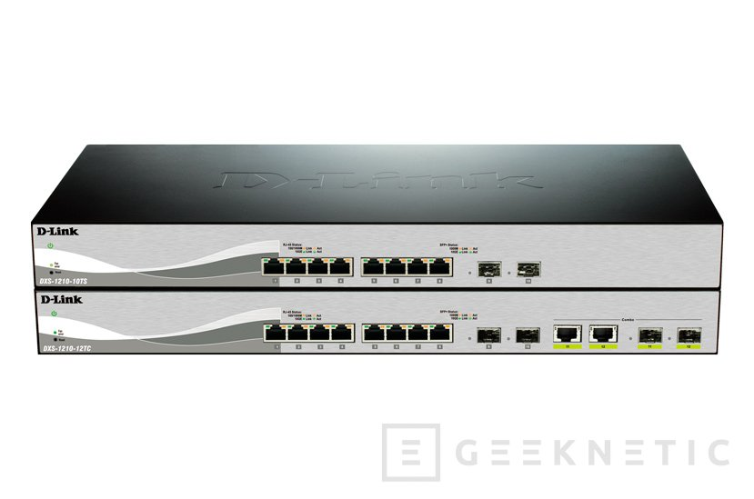 D-Link lanza nuevos Switches 10 GbE para PyMES, Imagen 1