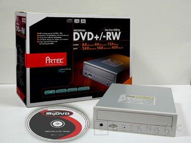 Grabadora dual de DVD a 8x de Artec, Imagen 1