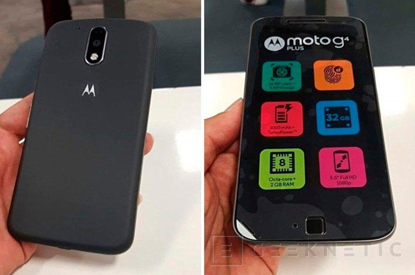 Primeras imagenes del Motorola Moto G4 Plus de Lenovo, Imagen 1
