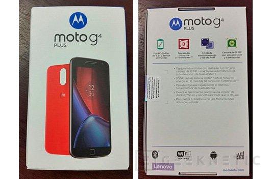 Primeras imagenes del Motorola Moto G4 Plus de Lenovo, Imagen 2