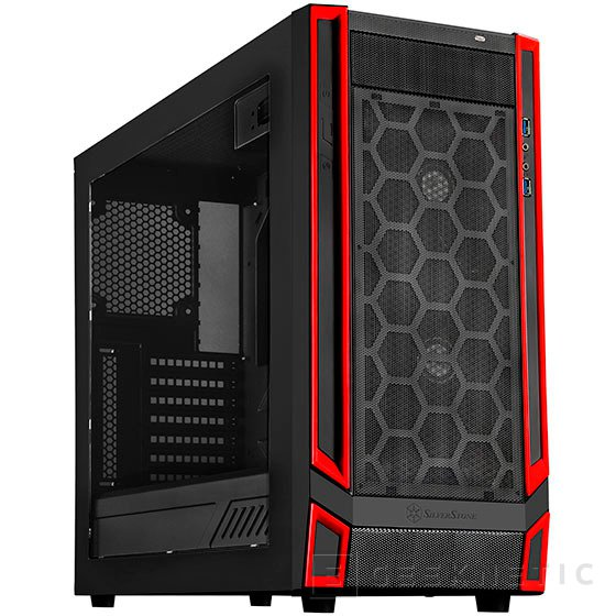 SilverStone RL05, torre gaming para bolsillos ajustados, Imagen 1