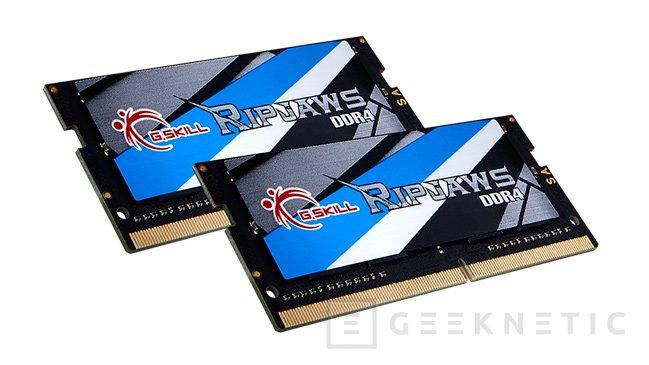 G.SKILL ya dispone de los primeros módulos SO-DIMM de 16 GB a 3.200 MHz, Imagen 1