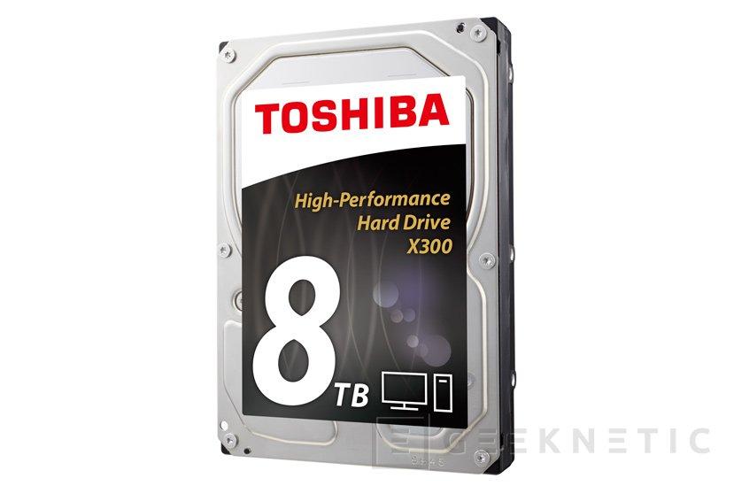 Toshiba amplía su catálogo de discos duros X300 con un nuevo modelo de 8 TB, Imagen 1