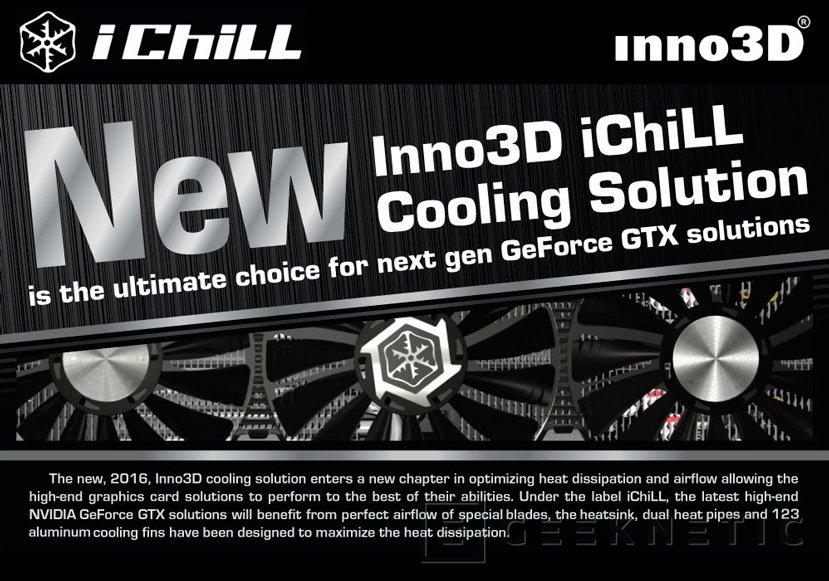 Inno3D prepara su propio disipador iChill X4 Ultra para sus GTX 1080, Imagen 2