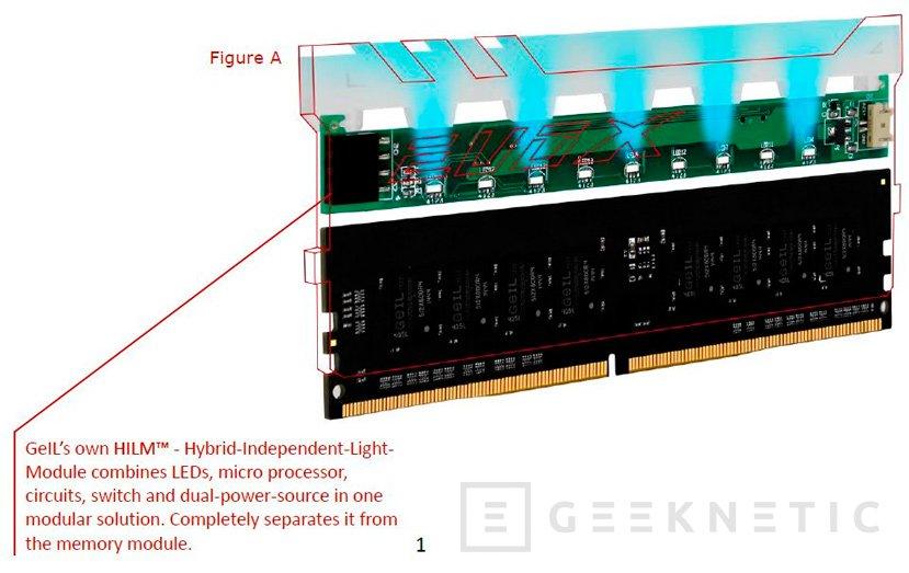 GeIL anuncia las memorias EVO-X con retroiluminación RGB HILM independiente, Imagen 3
