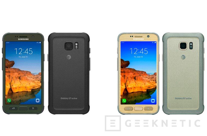 El Galaxy S7 Active será un S7 resistente con 4.000 mAh de batería, Imagen 1