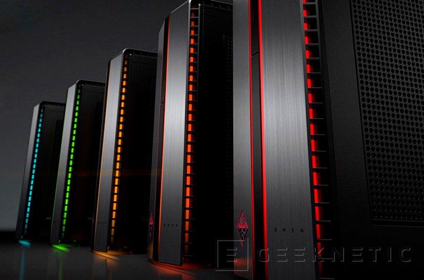 HP lanza nuevos PC Gaming de la gama Omen, Imagen 1