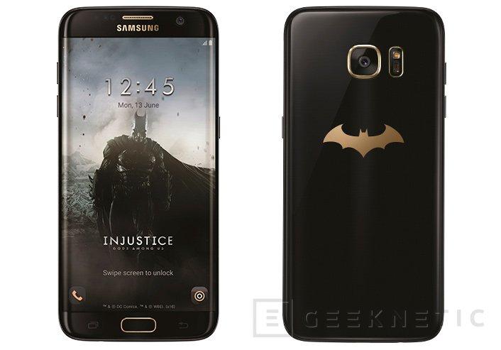 Samsung se inspira en Batman para su Galaxy S7 Edge Injustice Edition, Imagen 1