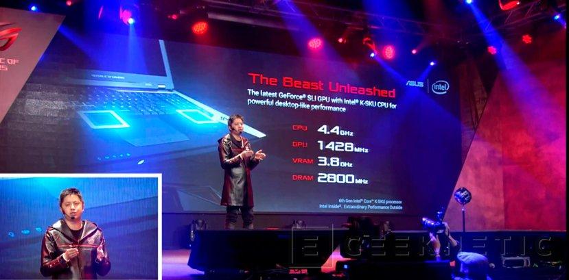 ASUS ROG GX800, el portátil más potente del mundo, Imagen 1
