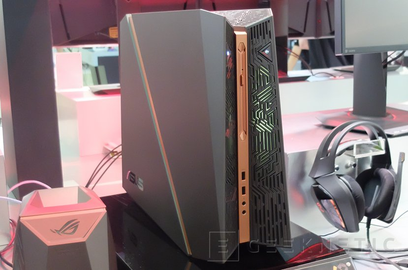 ASUS ROG G31, un ordenador compacto con dos GTX 1080 en SLI, Imagen 1