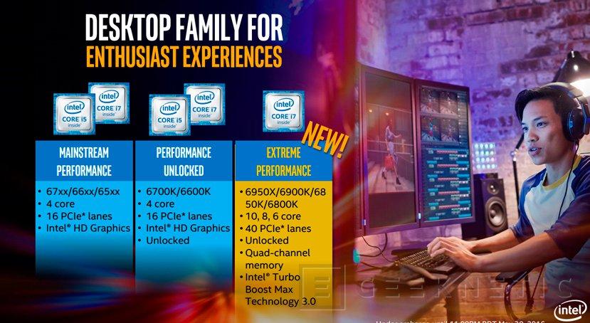 Llegan los procesadores Intel Broadwell-E con 10 núcleos , Imagen 1