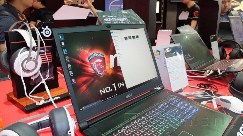 Nuevos portátiles MSI GS63 y GS73 Stealth Pro con gráficas NVIDIA Pascal, Imagen 3