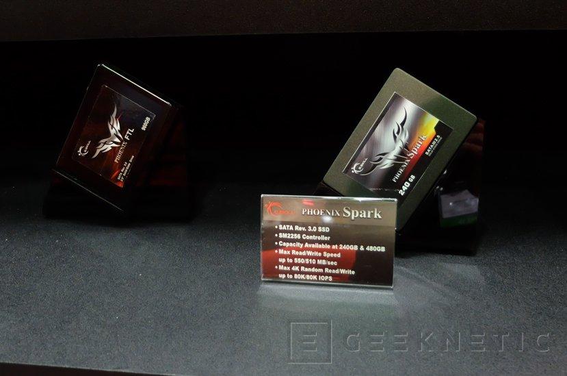 GSKILL nos enseña sus nuevos SSD Ripjaws S3 M.2 y Phoenix de 2,5
