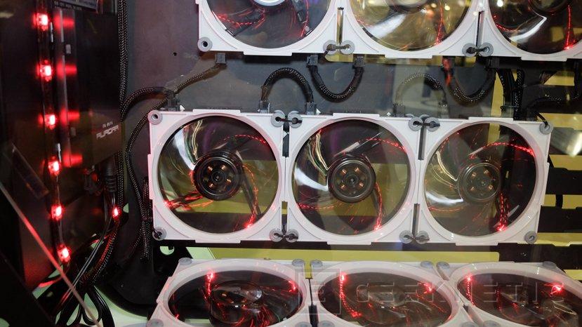 Nuevos ventiladores In Win Aurora con control remoto y conectores modulares, Imagen 2