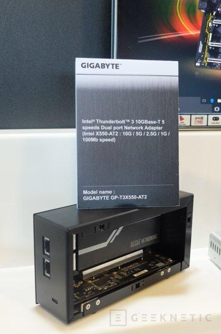 Gigabyte presenta una tarjeta de red 10GbE externa con Thunderbolt 3, Imagen 1