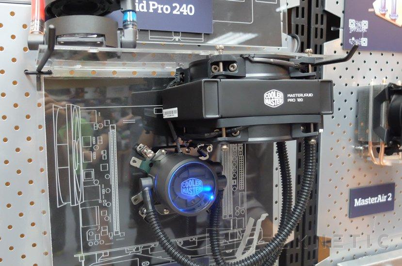 Conocemos las refrigeraciones líquidas MasterLiquid Pro de Cooler Master, Imagen 2