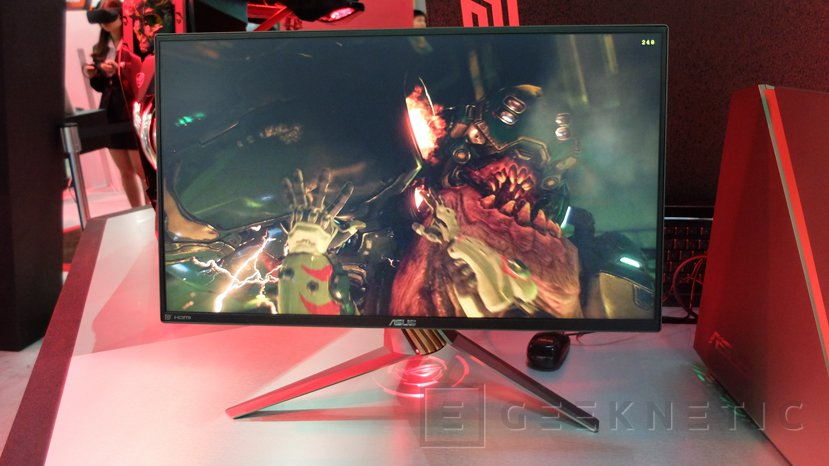 ASUS ROG Swift PG258Q: monitor gaming con panel de 240 Hz, Imagen 1