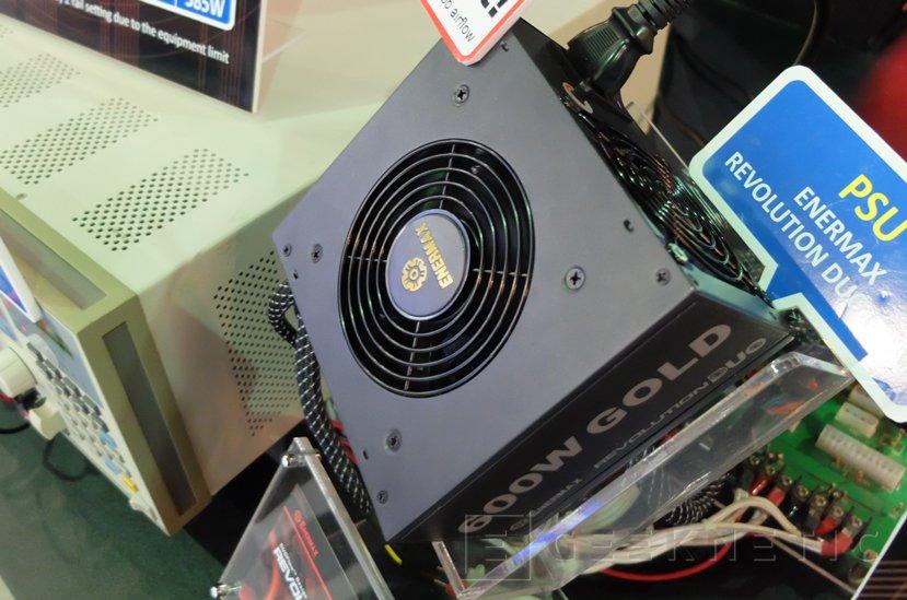 Nuevas fuentes Enermax Revolution DUO con dos ventiladores, Imagen 3