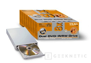 Grupo CDW presenta nuevas grabadoras TEAC DV-W58G ó TEAC DV-W58D, Imagen 1