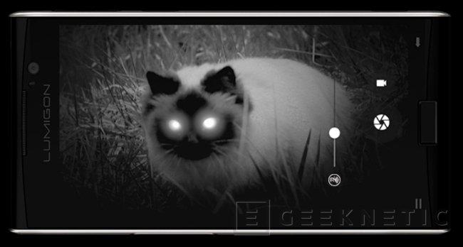 Lumigon T3, un nuevo smartphone con cámara de visión nocturna, Imagen 2
