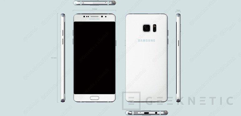 El Samsung Galaxy Note 7 tendrá sensor de iris, Imagen 1
