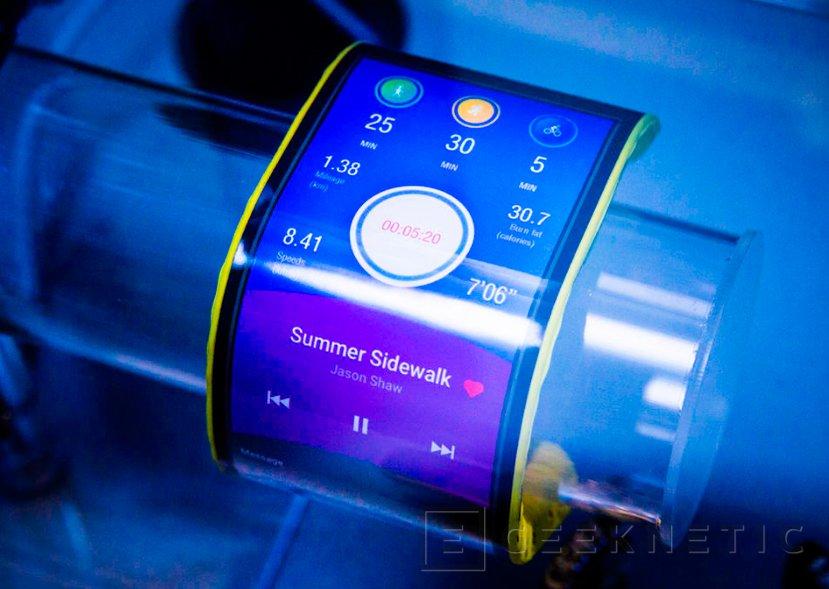Lenovo muestra un tablet y un smartphone con pantalla flexible, Imagen 1