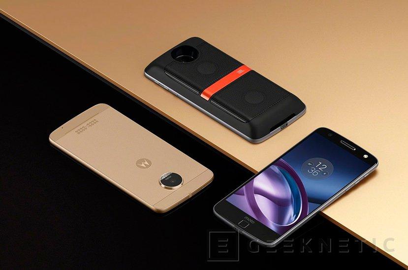 Llegan los Motorola Moto Z y sus carcasas con funciones extra, Imagen 1