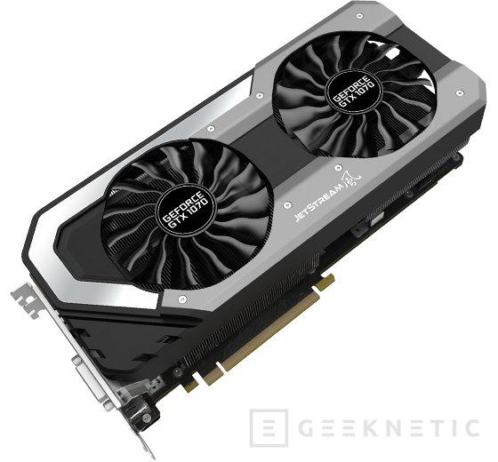 Palit anuncia sus GTX 1070 GameRock y JetStream, Imagen 2