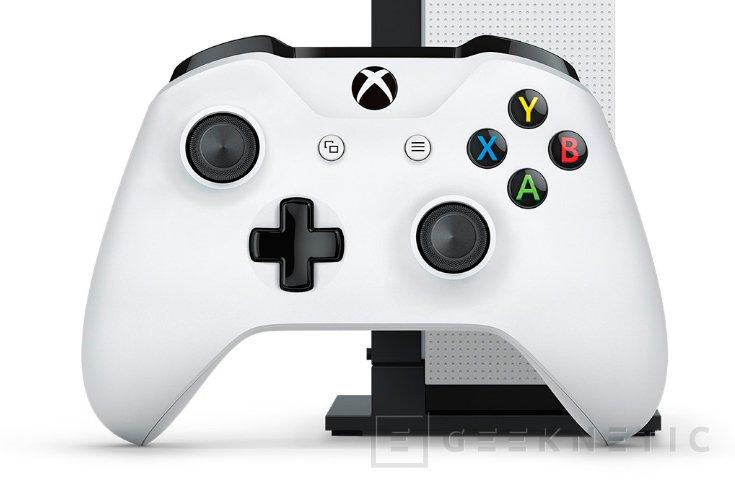 Microsoft anuncia la Xbox One S, más fina y con soporte para 4K y HDR, Imagen 2
