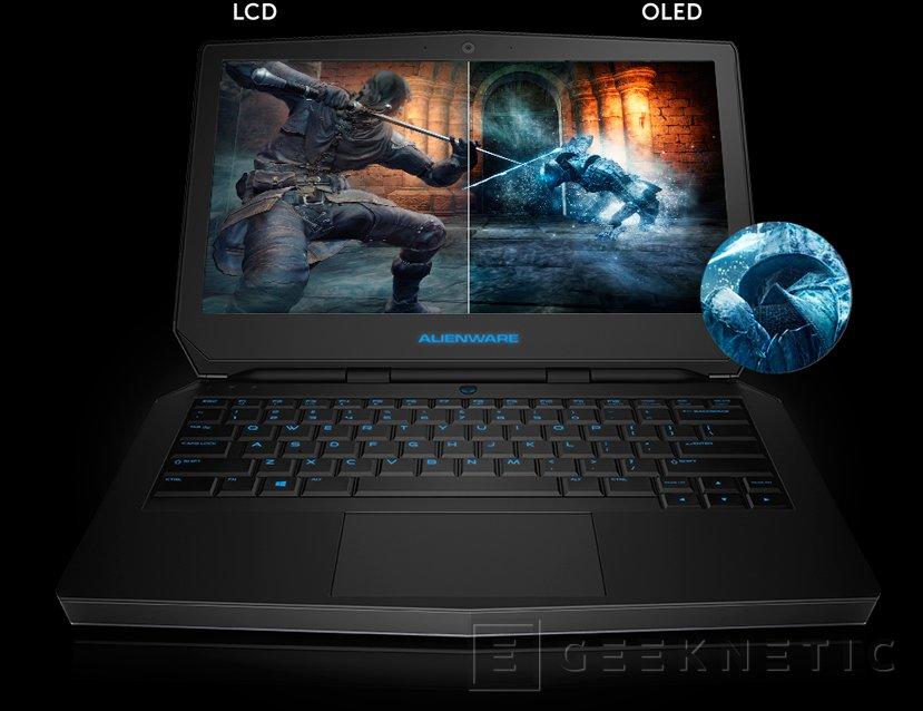 Llega al mercado el Alienware 13 con pantalla OLED, Imagen 1