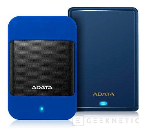 Nuevos discos duros externos resistentes de ADATA, Imagen 1