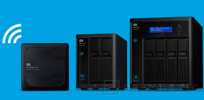 Nuevos NAS My Passport Wireless Pro y My Cloud Pro de Western Digital, Imagen 1