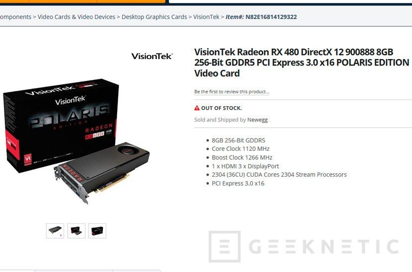 Filtradas las especificaciones completas de la Radeon RX 480, Imagen 1