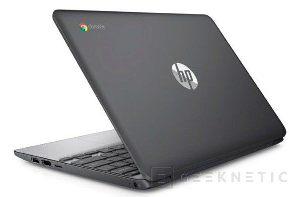 HP dota de pantalla táctil a su nuevo Chromebook 11 G5, Imagen 1