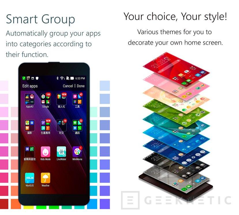 ASUS hace pública su capa de Android ZenUI para todos los smartphones, Imagen 1