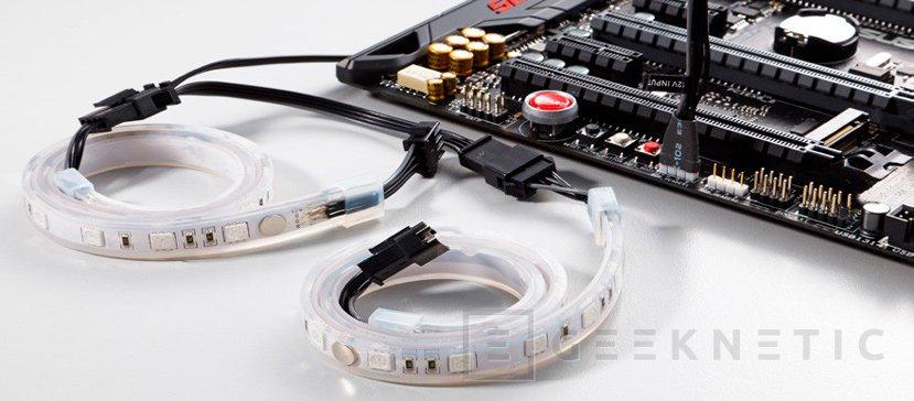 Phanteks ya tiene tiras de LED RGB compatibles con el sistema AURA de ASUS, Imagen 1