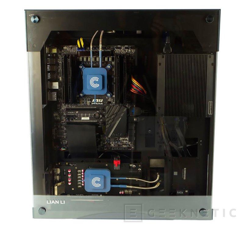 Calyos lanza un ordenador gaming X99  con una TITAN X completamente pasivo, Imagen 2