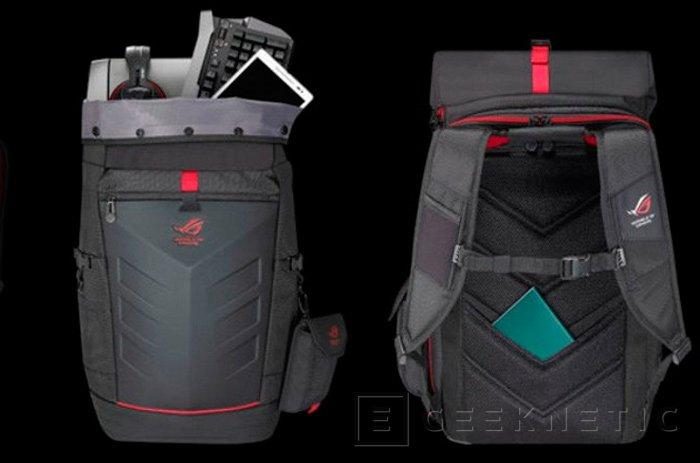 ASUS Ranger Backpack, mochila para portátiles y periféricos gaming, Imagen 1