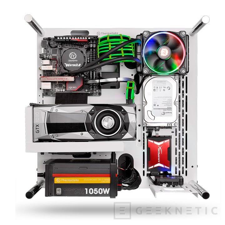 Thermaltake lanza su espectacular torre Core P3, Imagen 2
