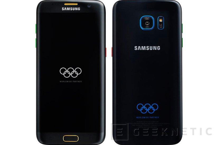 Samsung anuncia el Galaxy S7 Edge Olympic Edition con motivo de los Juegos Olímpicos 2016, Imagen 1