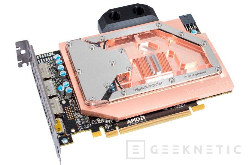 Aqua Computer ya dispone de su propio bloque de refrigeración líquida para la RX 480, Imagen 1