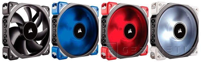 Corsair anuncia los nuevos ventiladores ML Series con rodamientos de levitación magnética, Imagen 1