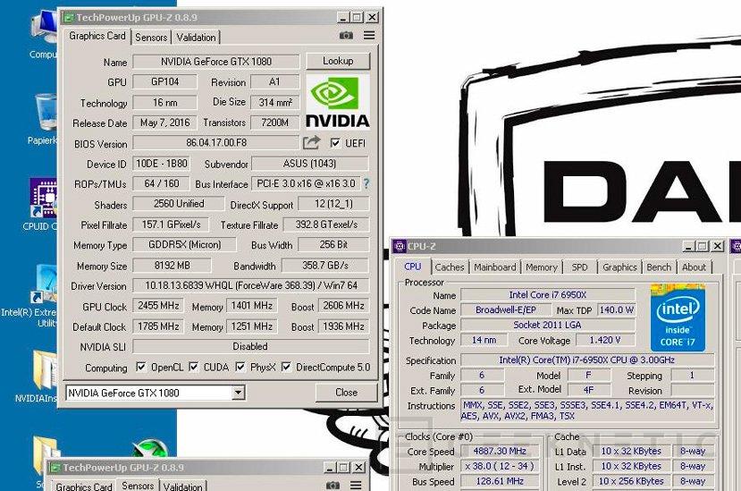 La ASUS ROG STRIX GTX 1080 consigue un nuevo record de overclock, Imagen 1