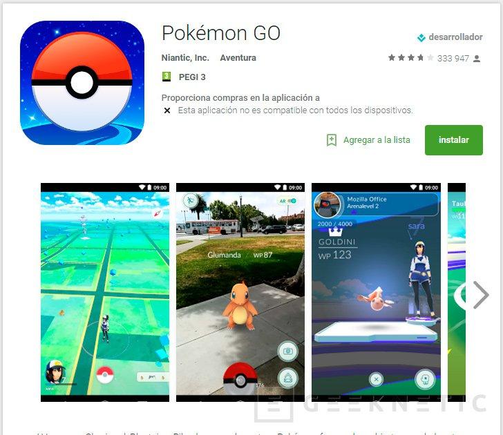 Pokemon Go empieza a llegar oficialmente a Europa, Imagen 1