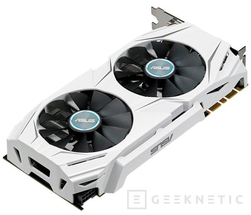 ASUS tiñe de blanco su GTX 1070 Dual, Imagen 1
