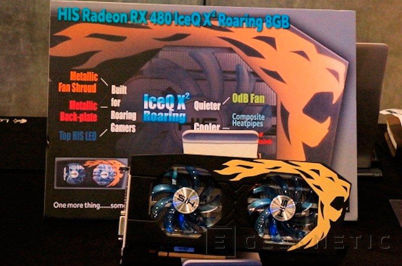 Primeras fotografías de la Radeon RX 480 IceQX² Roaring de HIS, Imagen 1