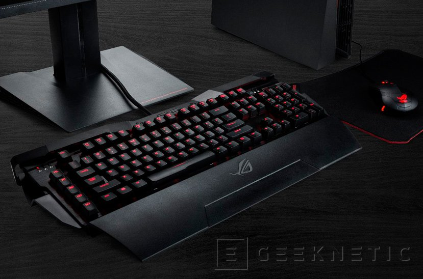 Llega a España el teclado mecánico ASUS ROG Horus GK2000 por 269 Euros, Imagen 1