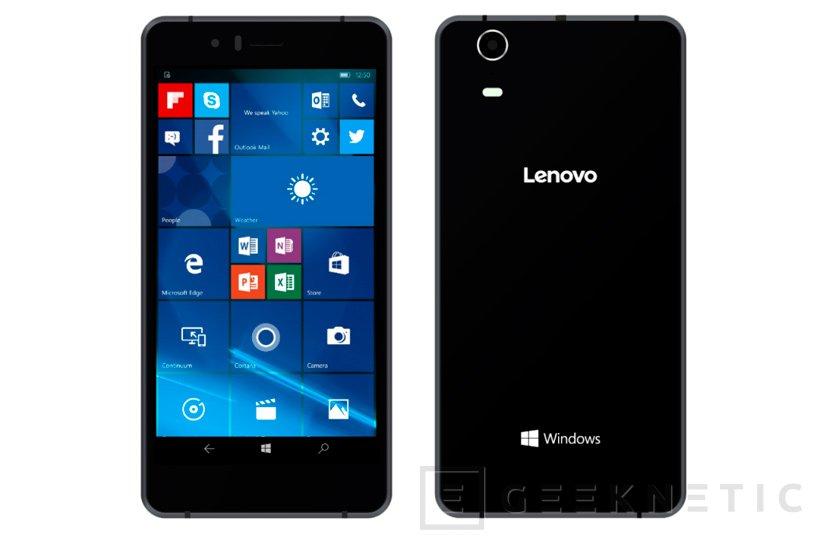 Lenovo lanza su primer smartphone con Windows 10 Mobile: SoftBank 503LV, Imagen 1