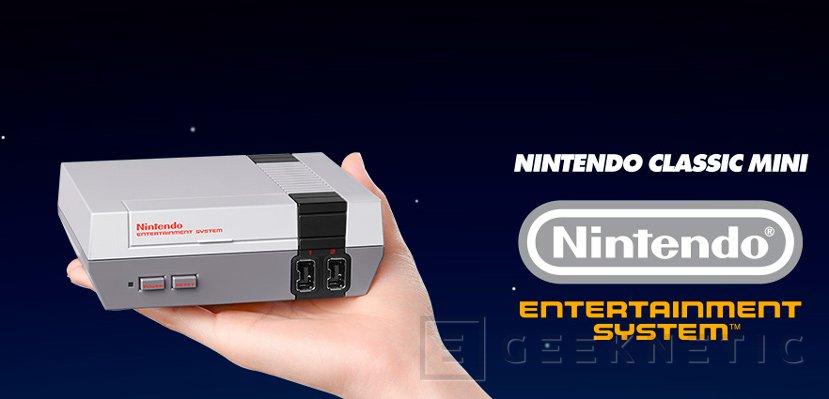 Nintendo Clasic Mini, Nintendo devuelve a la vida la mítica NES en formato compacto, Imagen 1