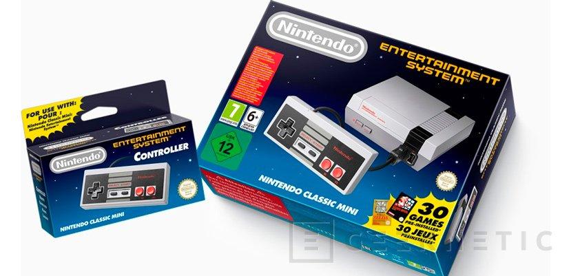 Nintendo Clasic Mini, Nintendo devuelve a la vida la mítica NES en formato compacto, Imagen 2